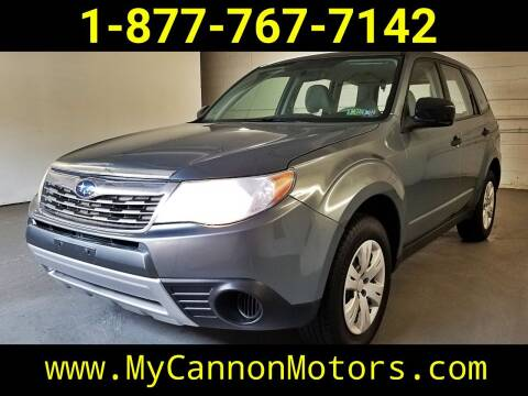 2009 Subaru Forester for sale at Cannon Motors in Silverdale PA