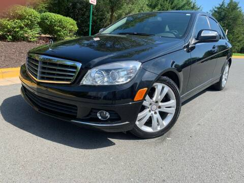 2008 Mercedes-Benz C-Class for sale at Aren Auto Group in Sterling VA