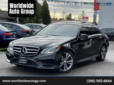 2015 Mercedes-Benz E-Class for sale at Worldwide Auto Group in Auburn WA