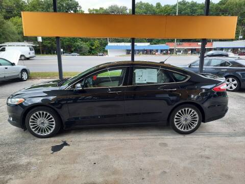 2015 Ford Fusion for sale at PIRATE AUTO SALES in Greenville NC