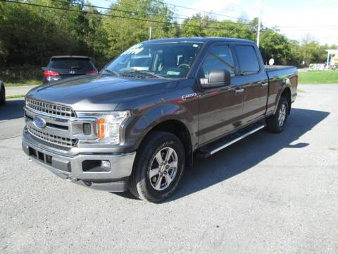 2018 Ford F-150 for sale at WORKMAN AUTO INC in Pleasant Gap PA