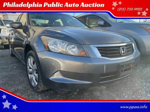 2008 Honda Accord for sale at Philadelphia Public Auto Auction in Philadelphia PA