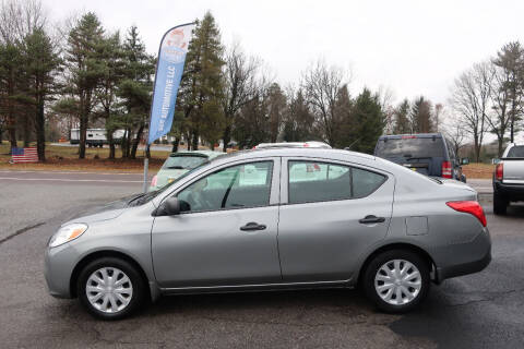 2014 Nissan Versa for sale at GEG Automotive in Gilbertsville PA