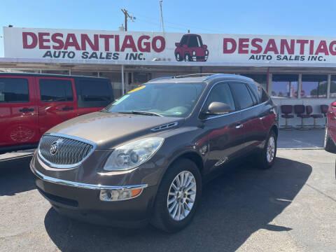 2012 Buick Enclave for sale at DESANTIAGO AUTO SALES in Yuma AZ