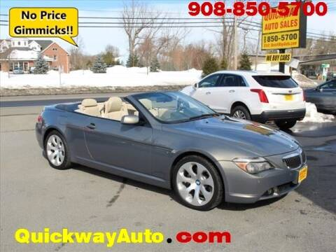 2005 BMW 6 Series for sale at Quickway Auto Sales in Hackettstown NJ