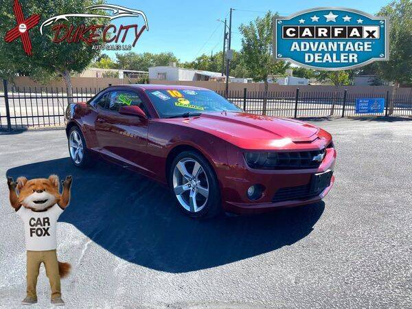 2010 Chevrolet Camaro for sale at DUKE CITY AUTO SALES in Albuquerque NM