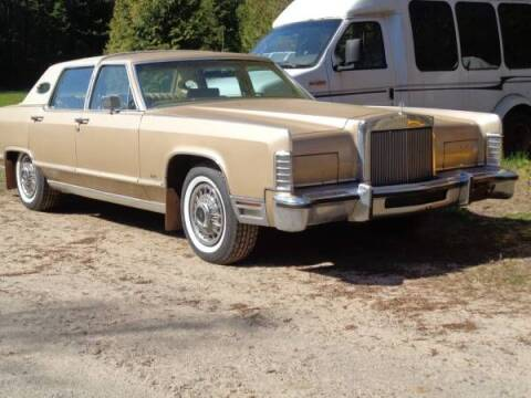1978 Lincoln Town Car for sale at Classic Car Deals in Cadillac MI