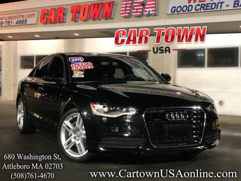 2015 Audi A6 for sale at Car Town USA in Attleboro MA