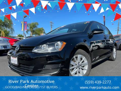 2016 Volkswagen Golf for sale at River Park Automotive Center in Fresno CA