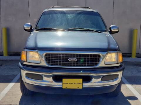 1998 Ford Expedition for sale at Delta Auto Alliance in Houston TX
