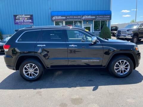 2015 Jeep Grand Cherokee for sale at Platinum Auto in Abington MA