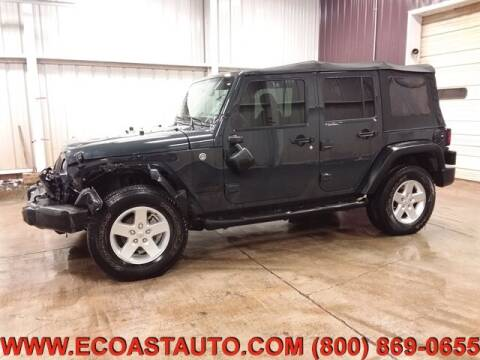 2016 Jeep Wrangler Unlimited for sale at East Coast Auto Source Inc. in Bedford VA