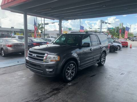 2017 Ford Expedition for sale at American Auto Sales in Hialeah FL