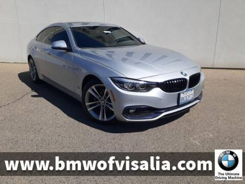 2018 BMW 4 Series for sale at BMW OF VISALIA in Visalia CA