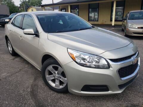 2015 Chevrolet Malibu for sale at speedy auto sales in Indianapolis IN