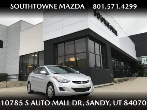 2013 Hyundai Elantra for sale at Southtowne Mazda of Sandy in Sandy UT