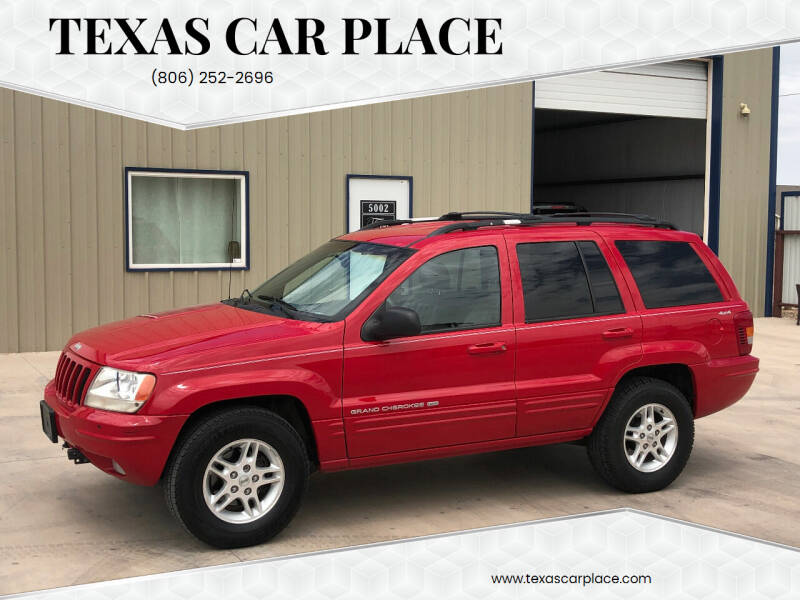 1999 Jeep Grand Cherokee for sale at TEXAS CAR PLACE in Lubbock TX