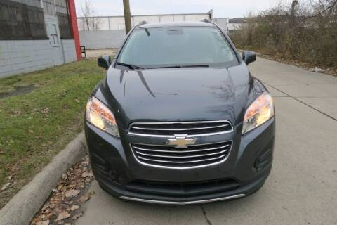 2016 Chevrolet Trax for sale at Dymix Used Autos & Luxury Cars Inc in Detroit MI