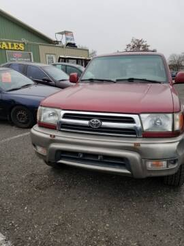 2000 Toyota 4Runner for sale at 2 Way Auto Sales in Spokane Valley WA