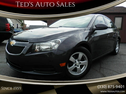 2014 Chevrolet Cruze for sale at Ted's Auto Sales in Louisville OH
