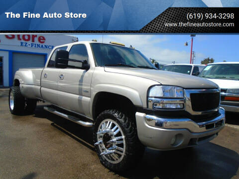 2006 GMC Sierra 3500 for sale at The Fine Auto Store in Imperial Beach CA