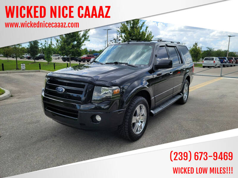 2010 Ford Expedition for sale at WICKED NICE CAAAZ in Cape Coral FL