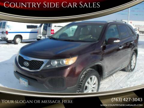 2011 Kia Sorento for sale at Country Side Car Sales in Elk River MN