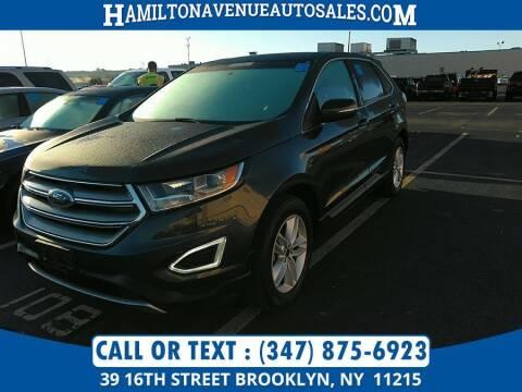 2015 Ford Edge for sale at Hamilton Avenue Auto Sales in Brooklyn NY