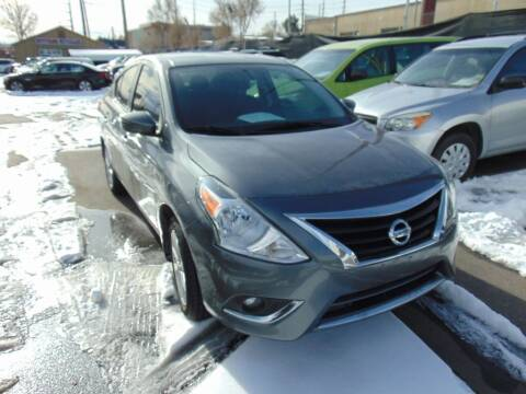 2016 Nissan Versa for sale at Avalanche Auto Sales in Denver CO