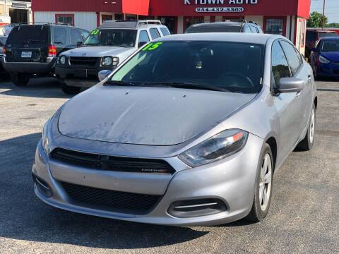 2015 Dodge Dart for sale at K Town Auto in Killeen TX