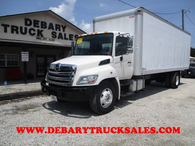 2013 Hino 268 for sale at DEBARY TRUCK SALES in Sanford FL
