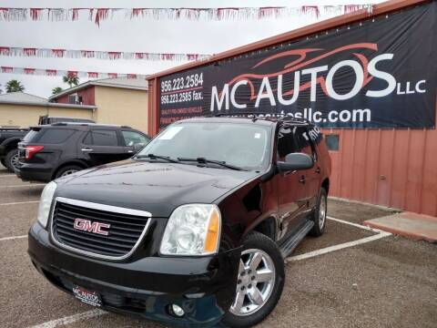 2010 GMC Yukon for sale at MC Autos LLC in Pharr TX