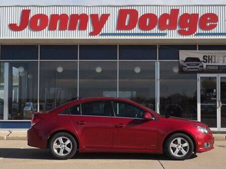 2013 Chevrolet Cruze for sale at Jonny Dodge Chrysler Jeep in Neligh NE
