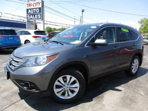 2013 Honda CR-V for sale at TRI CITY AUTO SALES LLC in Menasha WI