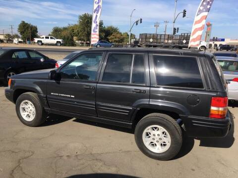 1998 Jeep Grand Cherokee for sale at CONTINENTAL AUTO EXCHANGE in Lemoore CA