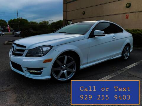2013 Mercedes-Benz C-Class for sale at Ultimate Motors in Port Monmouth NJ