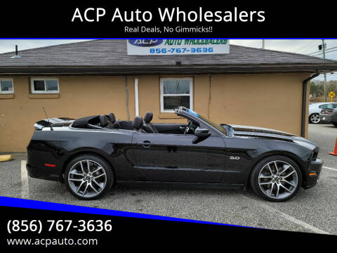 2014 Ford Mustang for sale at ACP Auto Wholesalers in Berlin NJ