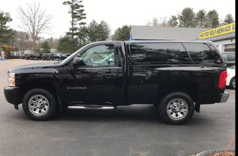 2011 Chevrolet Silverado 1500 for sale at BORGES AUTO CENTER, INC. in Taunton MA
