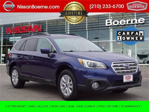 2016 Subaru Outback for sale at Nissan of Boerne in Boerne TX
