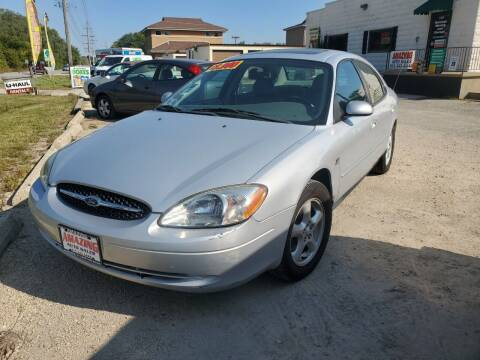 2003 Ford Taurus for sale at AMAZING AUTO SALES in Marengo IL