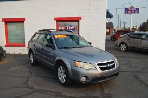 2009 Subaru Outback for sale at CARGILL U DRIVE USED CARS in Twin Falls ID