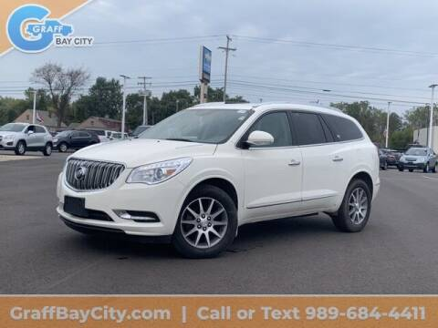 2014 Buick Enclave for sale at GRAFF CHEVROLET BAY CITY in Bay City MI