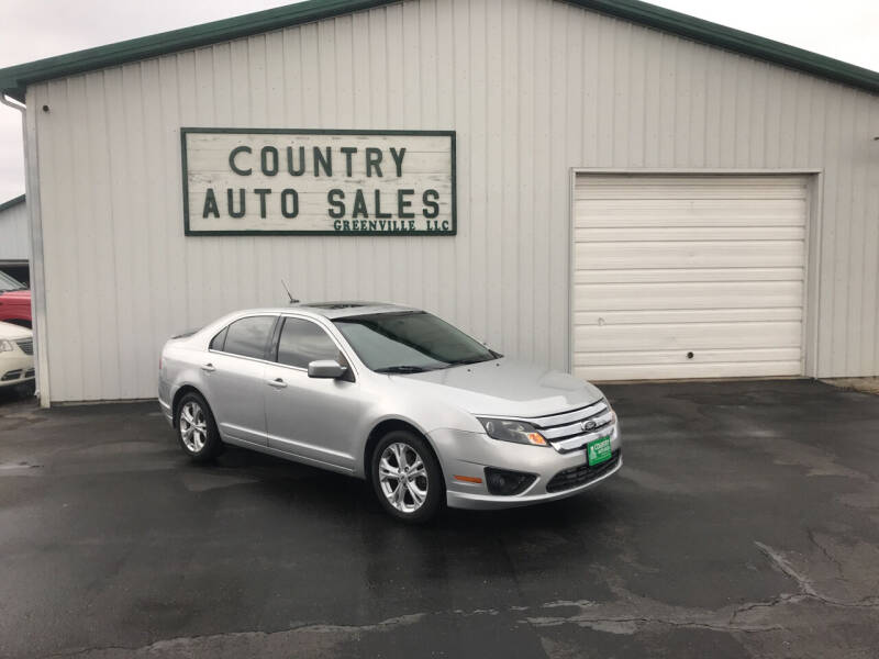 2012 Ford Fusion for sale at COUNTRY AUTO SALES LLC in Greenville OH