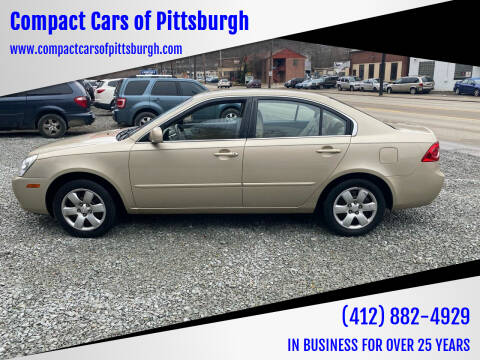 2008 Kia Optima for sale at Compact Cars of Pittsburgh in Pittsburgh PA