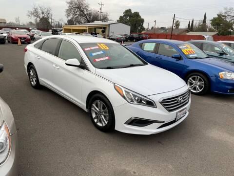 2016 Hyundai Sonata for sale at Mega Motors Inc. in Stockton CA