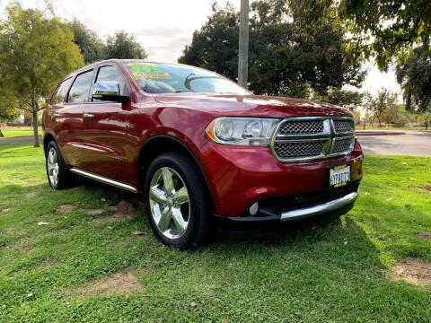 2013 Dodge Durango for sale at D & I Auto Sales in Modesto CA