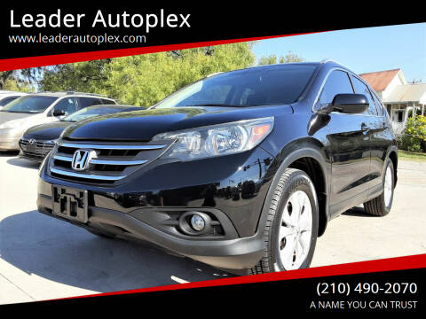 2014 Honda CR-V for sale at Leader Autoplex in San Antonio TX
