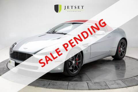 2008 Aston Martin V8 Vantage for sale at Jetset Automotive in Cedar Rapids IA