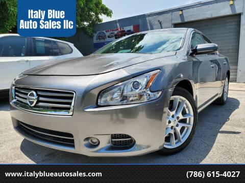 2014 Nissan Maxima for sale at Italy Blue Auto Sales llc in Miami FL