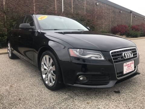 2011 Audi A4 for sale at Classic Motor Group in Cleveland OH